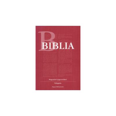 Biblia - Magyarázó jegyzetekkel - válogatás