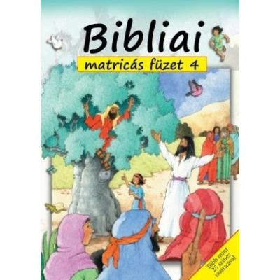 Bibliai matricás füzet 4