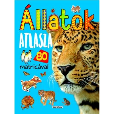 Állatok atlasza - 80 matricával